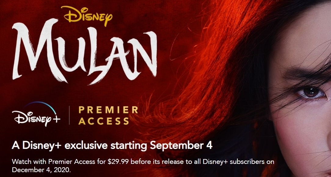 Disney+ confirms subscribers will get 'Mulan' on December 4th | DeviceDaily.com