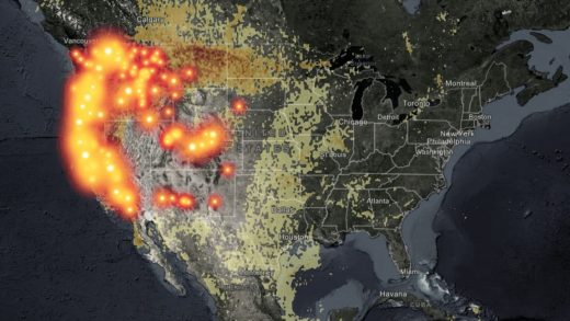 How far does wildfire smoke travel? These maps will tell you