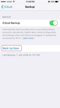 How to Backup iPhone to iCloud in Just 2 Minutes