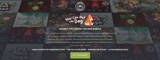 Humble's You Can Pet The Dog bundle is exactly what it sounds like