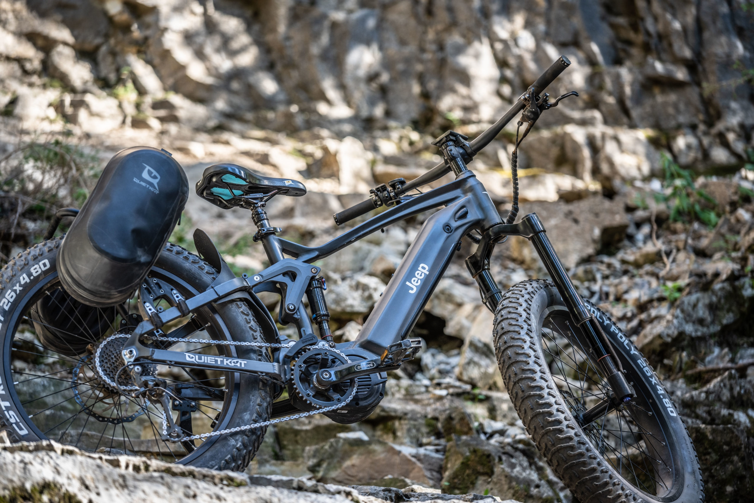 Jeep's monster off-road e-bike starts shipping in early September | DeviceDaily.com
