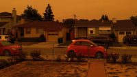 Look at the West Coast's apocalyptic hell sky
