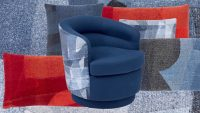 West Elm's newest line is upholstered in your recycled jeans