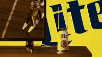 Why Miller Lite turned its beer can into a TV antenna for NFL football