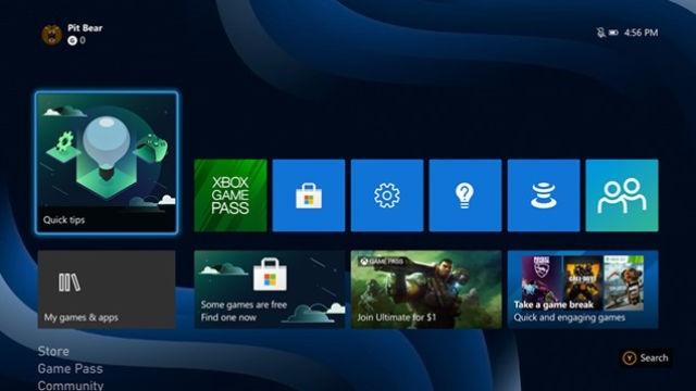 Microsoft's new Xbox UI is already available on Xbox One   DeviceDaily.com