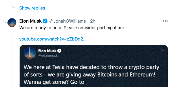 Verified Elon Musk impersonator hitches a ride on Trump's viral COVID tweet for bitcoin scam | DeviceDaily.com