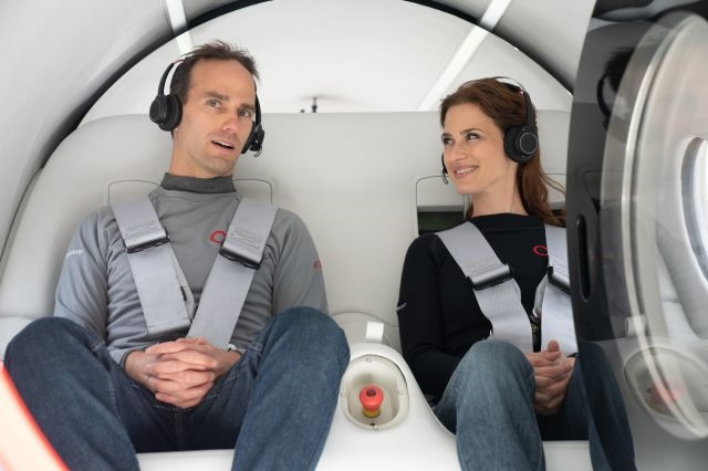 The world's first crewed Hyperloop trip was a success   DeviceDaily.com