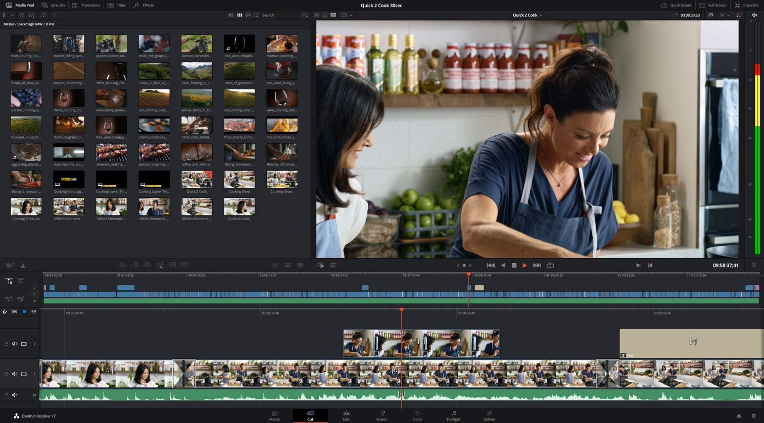 DaVinci Resolve 17 can automatically crop Instagram-ready video clips | DeviceDaily.com