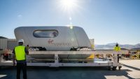 Passengers hopped aboard a Virgin Hyperloop for the first test run with humans