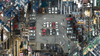 This AI-powered parking garage rewards you for not driving