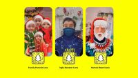 Snapchat 2020 holiday lenses: How to get the Ugly Sweater with Face Mask, Santa's Beard, and Family Portrait lenses