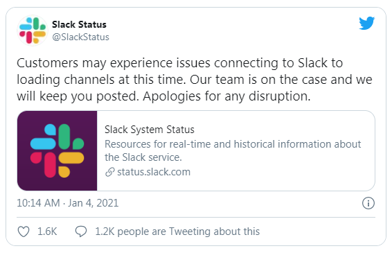 Widespread Slack outage reported | DeviceDaily.com