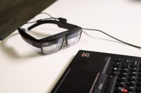 Lenovo's ThinkReality A3 Smart Glasses can show up to five virtual displays