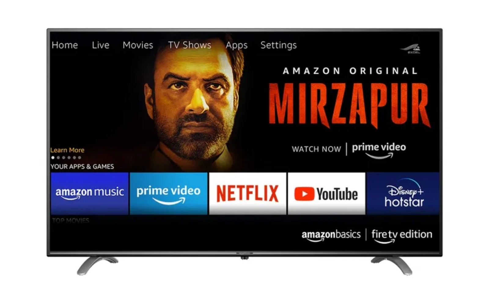 Amazon's first TV is only available in India   DeviceDaily.com