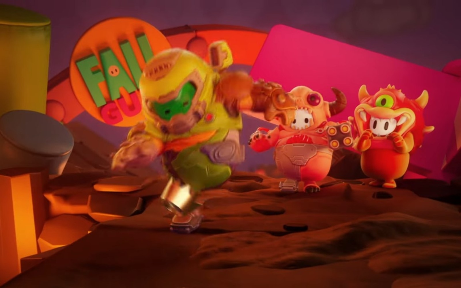 'Fall Guys' will add 'Doom' costumes on January 12th | DeviceDaily.com