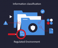 Information classification role in regulated environment (case study)