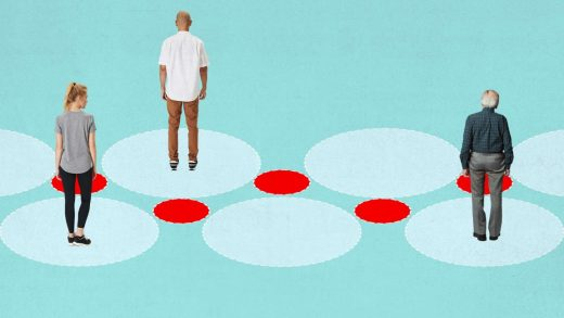 It's not your imagination: Wealthy people really do practice more social distancing