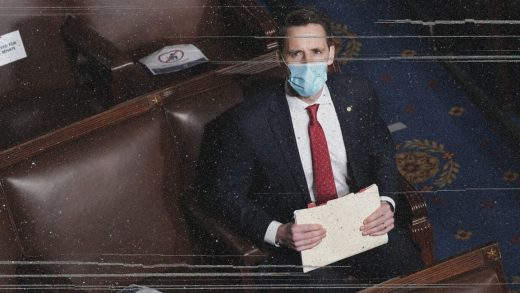 Josh Hawley emboldened the Capitol mob. Now his future as Big Tech cop is in jeopardy