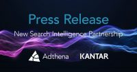 Kantar Partners With Adthena For Its Search Data, Insights