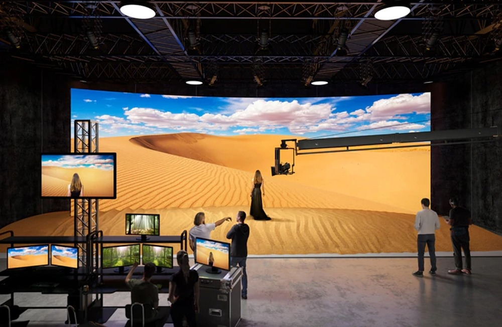 Sony finds a home for Crystal LED screens -- virtual set backgrounds | DeviceDaily.com
