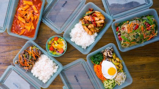 This new delivery service cuts down on takeout waste by sending your food in reusable packaging