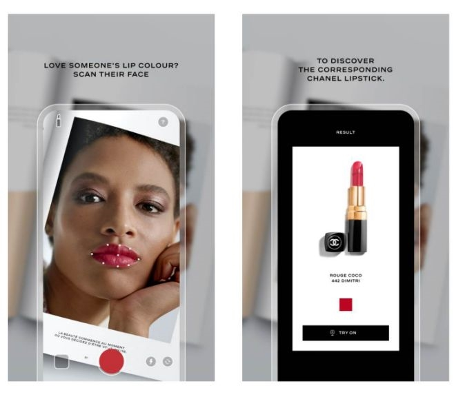 Chanel's AI Lipscanner app will find lipstick in any shade | DeviceDaily.com