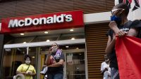 Fast food workers are striking for $15 an hour in 15 cities