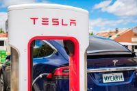 Tesla offers collision repairs in its service centers