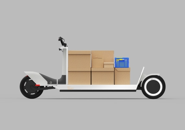 This electric 'urban sled' is a model for a future of emission-free deliveries | DeviceDaily.com