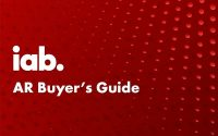 IAB Pushes Out AR Guide To Accelerate Immersive Advertising, Camera Strategies