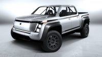 Lordstown Motors' electric race truck is (mostly) ready for off-roading