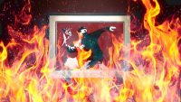 Why a blockchain company bought a Banksy screenprint—then burned it