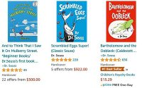 eBay Delists Six Dr. Seuss Books, Sending Amazon Prices To The Moon