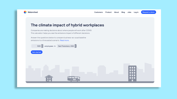 This calculator tells you how much your remote work is reducing your company's emissions | DeviceDaily.com