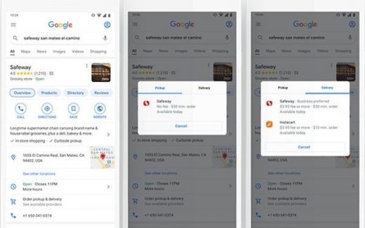 Albertsons, Google Strike Tech Partnership As Online Shopping Expands Into Search, Maps