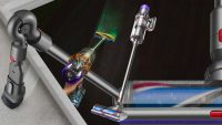 Dyson's latest vacuum shoots green laser beams