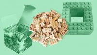 Lego bricks are terrible for the environment. These wooden alternatives biodegrade