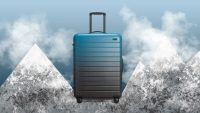 Thinking of (gasp) traveling again? Away is having a rare sale on suitcases and bags