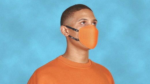 When this mask wears out, you can send it back to be recycled—and compost the filter