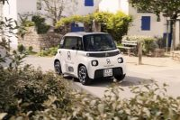 Citroën turned its compact Ami EV into a tiny delivery van