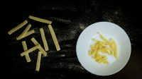 Watch this flat-pack pasta transform into shapes as it boils