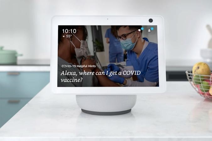 Alexa can help you find a COVID-19 vaccination site | DeviceDaily.com