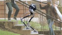Watch a 'blind' robot successfully navigate stairs