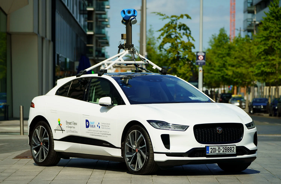 Google's first Street View EV is a Jaguar loaded with air quality sensors | DeviceDaily.com