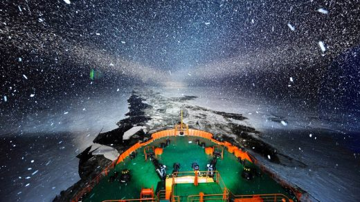 How the world's powers are fighting over a melting Arctic
