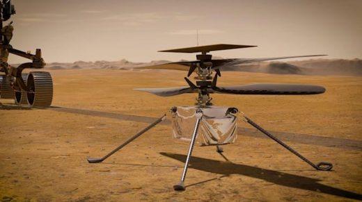 NASA's Mars copter survives 'anomaly' during its sixth flight