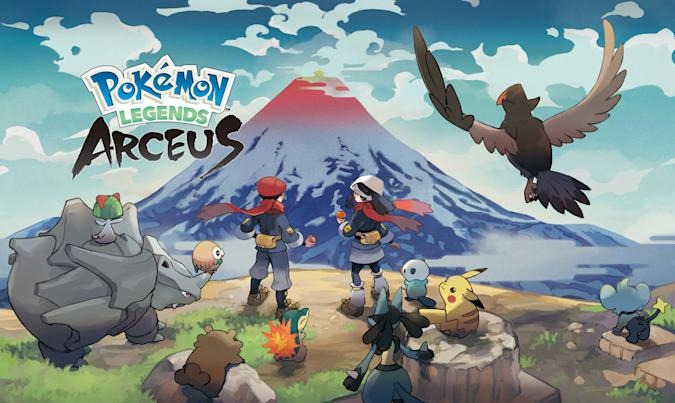 'Pokémon Legends: Arceus' is coming to Switch on January 28th   DeviceDaily.com