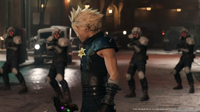 Final Fantasy VII Intergrade's entertaining DLC should also be on PS4   DeviceDaily.com