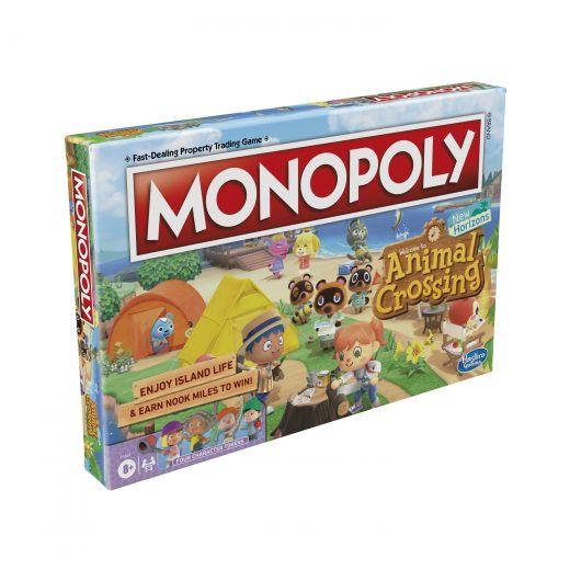 Animal Crossing Edition Monopoly arrives in August