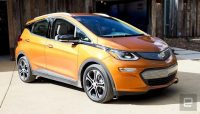 GM warns not to park Chevy Bolt EVs indoors after two recently caught fire